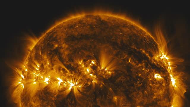 vídeos y material grabado en eventos de stock de el sol en el espacio - espacio y astronomía