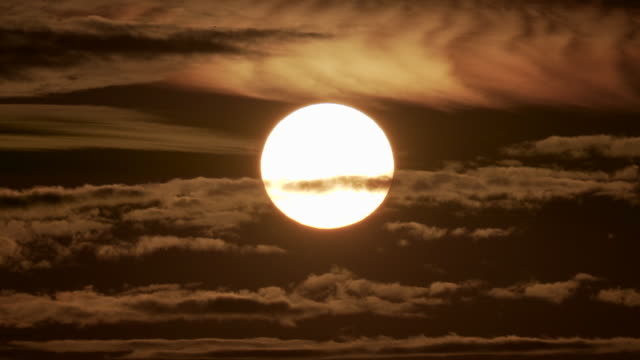 the sun, our star at sunset - nature stock videos & royalty-free footage