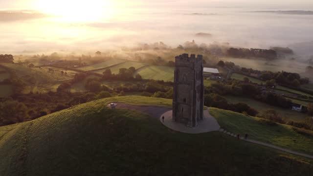 GBR: Autumn Travel Destinations: Glastonbury Tor In England