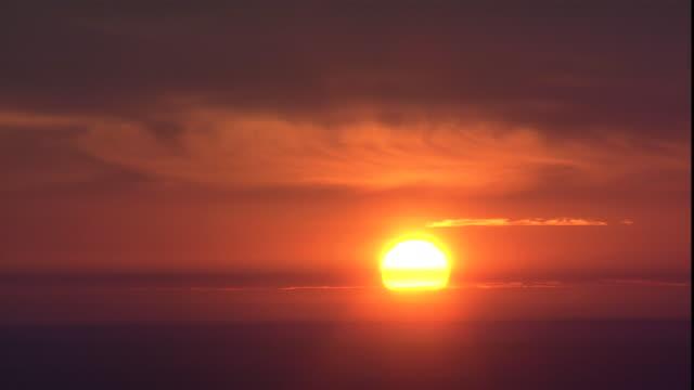 the sun shines bright on the horizon. - south dakota stock videos & royalty-free footage
