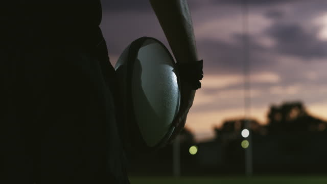 the sun will never set on his ambition of becoming a legend - rugby stock videos & royalty-free footage