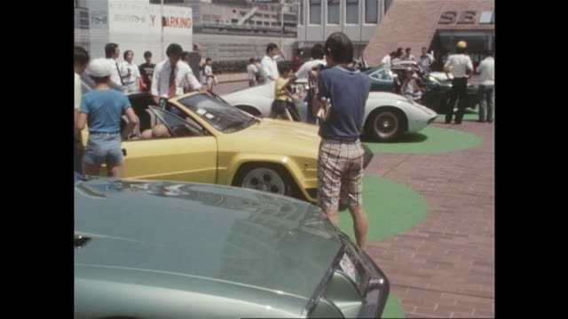 vidéos et rushes de the supercar boom began in the mid-1970's and got popular among many children. the supercars were exhibited at the roof of seibu department store in... - voiture particulière