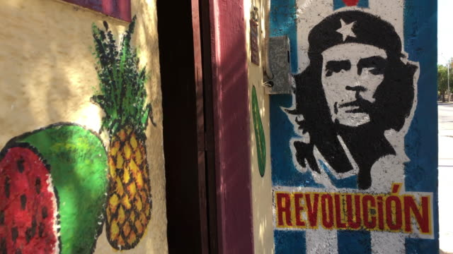 the supply to this small market is limited and many products private hosts need are bought in the black market - che guevara stock videos & royalty-free footage