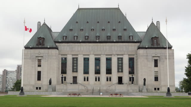 the supreme court of canada, ottawa, canada - courtyard stock videos & royalty-free footage