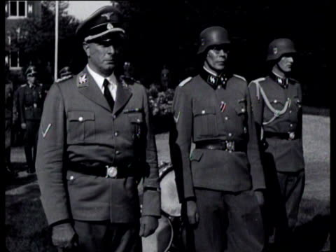 The swearingin of Dutch men who voluntarily joined the German Waffen SS