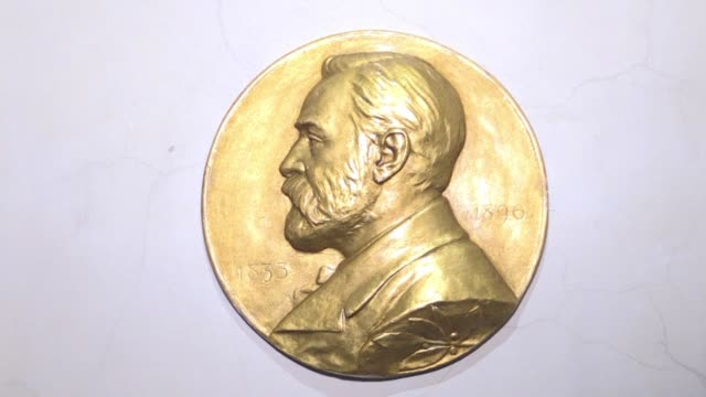 the swedish academy is to announce on friday whether or not it may postpone the 2018 nobel literature prize its administrative director has said... - nobel prize in literature stock videos and b-roll footage
