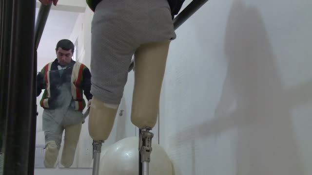 The Syrian conflict has left all manner of scars not least for those treated at a clinic providing prosthetic limbs to amputees caught in the...