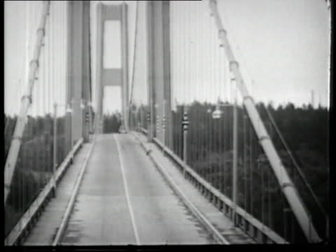 One of the most notorious engineering fails, the Tacoma Narrows Bridge spectacularly buckled and collapsed on 7 November 1940