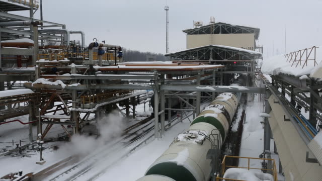 The 'TANECO' Oil Refining and Petrochemical Complex operated by Tatneft PJSC in Nizhnekamsk Tatarstan Republic Russia on Tuesday March 5 2019