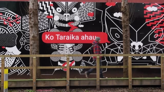 the te reo maori language is enjoying a surge in popularity among kiwis maori or otherwise who are embracing their south pacific nation's indigenous... - new zealand culture stock videos and b-roll footage