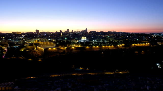 the temple mount in jerusalem - jerusalem stock-videos und b-roll-filmmaterial
