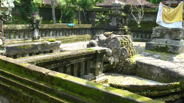 The Temples Of Puri Saren Agung (Water Palace Or Royal Palace) In Ubud, Bali