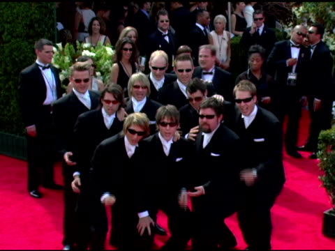 the ten tenors at the 2005 emmy awards at the shrine auditorium in los angeles, california on september 18, 2005. - shrine auditorium stock videos & royalty-free footage