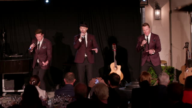 performance the tenors at kelly fisher katz martin katz host private dinner for the kennedy center's national committee for the performing arts... - performing arts center stock videos & royalty-free footage