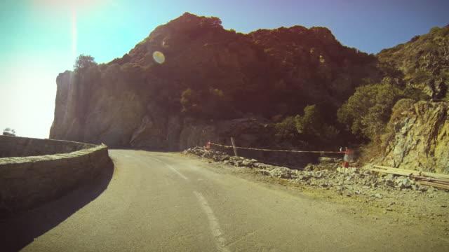 Die schrecklichen Straßen von Korsika