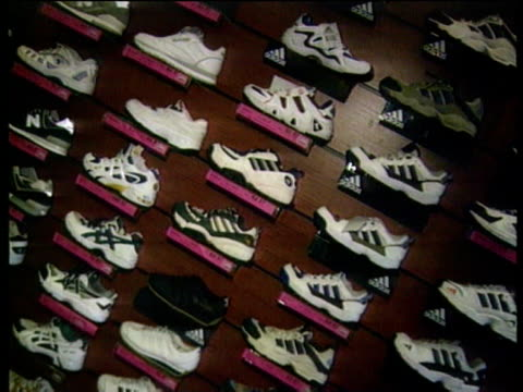 tesco obtains adidas supply intvw christine cross trading director - collection stock videos and b-roll footage