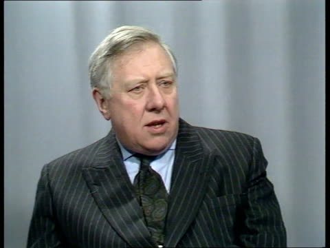 The Thatcher Decade INT ITN CMS Cecil Parkinson interview SOF ITN CMS Roy Hattersley interview SOF ITN CMS Norman Tebbitt interview SOF