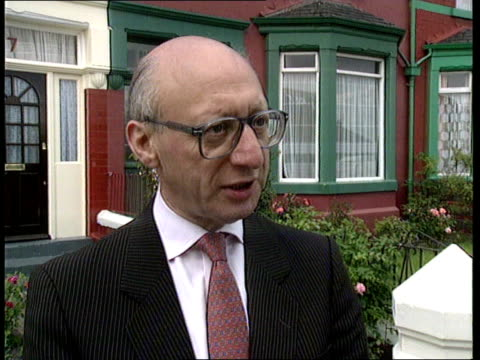 the thatcher foundation; unknown location: ext cms gerald kaufman mp intvwd sof - i'm sure she supports him as a man / it's no use saying she... - gerald kaufman stock videos & royalty-free footage