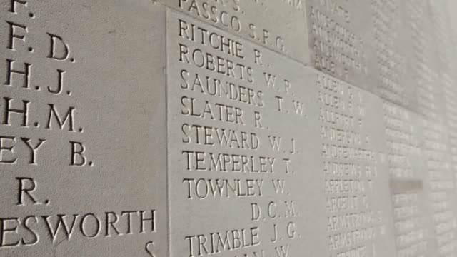 PAN The Thiepval Memorial to the missing of the Somme bears the names of 73357 officers and men of the United Kingdom and South African forces who...