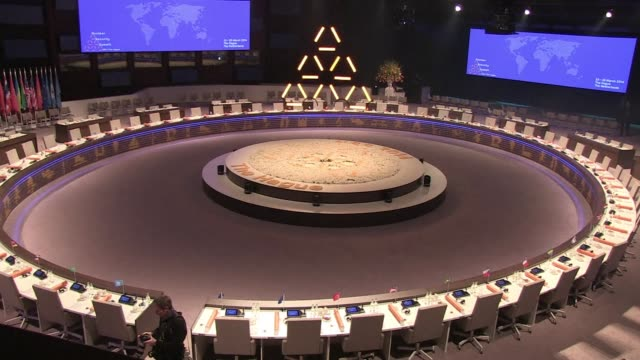 the third biannual nuclear security summit opened on monday with world leaders meeting to advance efforts towards increased nuclear security and... - 2014 bildbanksvideor och videomaterial från bakom kulisserna