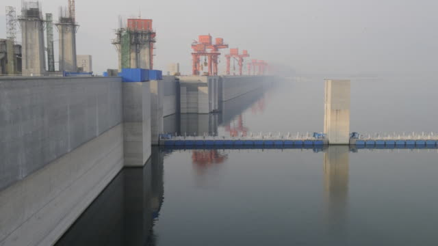The Three Gorges Dam operates on the Yangtze River.