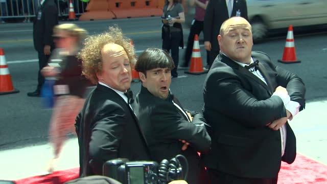 the three stooges los angeles premiere hollywood ca united states 4/7/12 - sean hayes stock videos & royalty-free footage