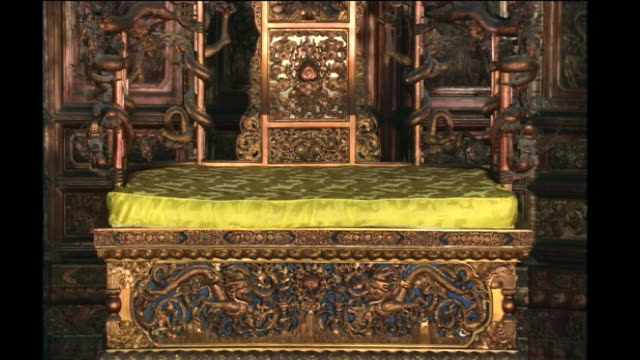 The Throne Inside The Hall Of Supreme Harmony