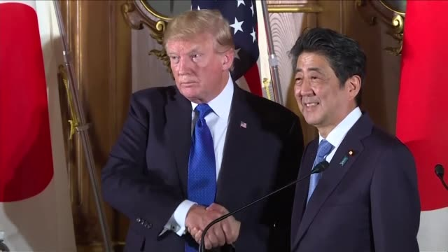 The time for strategic patience with North Korea is over US President Donald Trump warns after winning Japan's backing for his policy of considering...