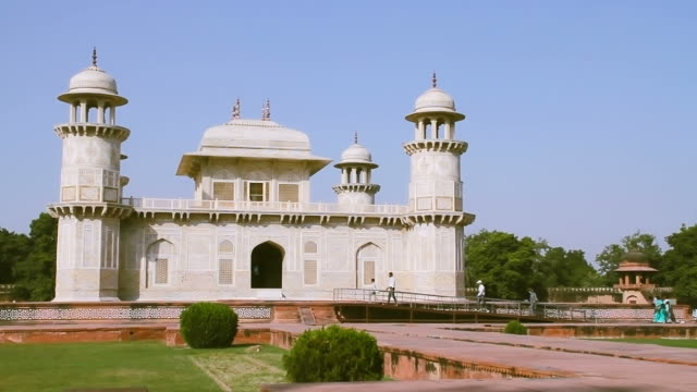 The Tomb Of Itmad ud Daula,Timelapse