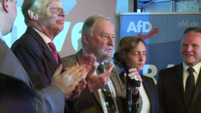 The top candidate of Germany's hardright and antiimmigration AfD party pledges to change this country after winning historic first seats in parliament
