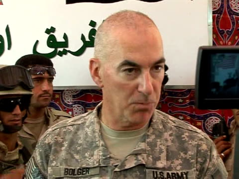 the top us general has declared iraqi troops ready to take over as us combat troops pull out from iraq's cities and main towns on tuesday marking... - stepping stone stock videos & royalty-free footage