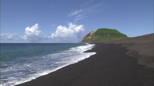 the total solar eclipse/ iwoto isl./ tokyo - iwo jima island stock videos & royalty-free footage
