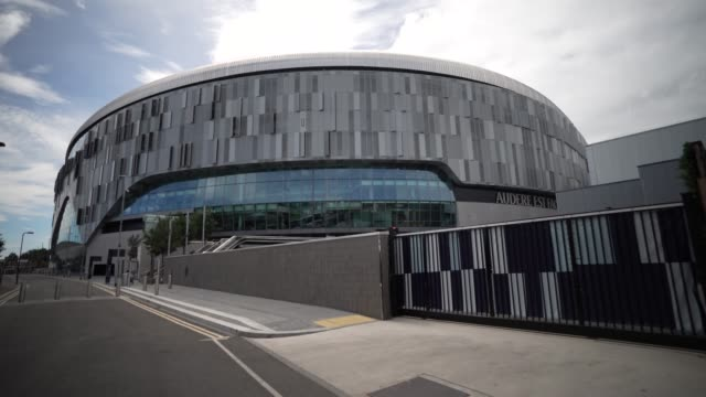 the tottenham hotspur stadium is the home of tottenham hotspur in north london replacing the club's previous stadium white hart lane during the... - putting stock videos & royalty-free footage