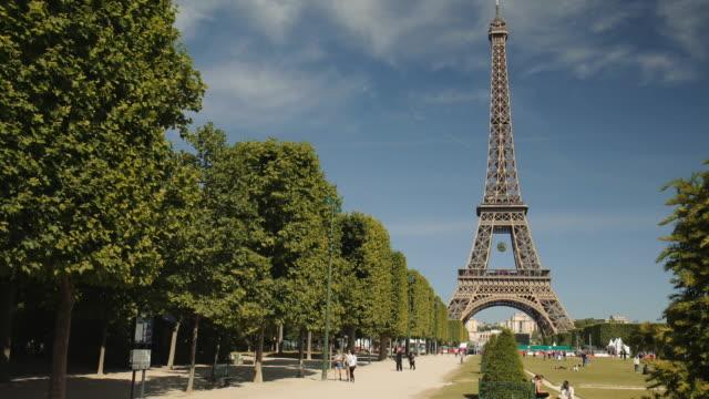 the tour eiffel - フランス点の映像素材/bロール