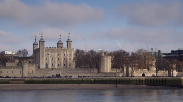 the tower of london, england. - british culture stock videos and b-roll footage
