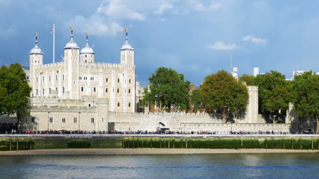 the tower of london - embankment stock videos and b-roll footage