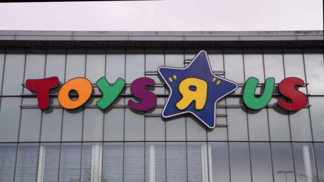 The Toys R Us store in Cardiff Bay Wales UK which is one of 100 to close after the chain retailer failed to find a buyer after going into...