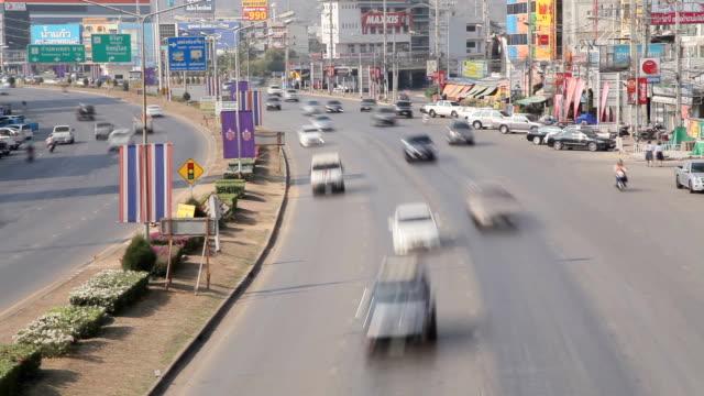 市内の交通 - スクエア点の映像素材/bロール