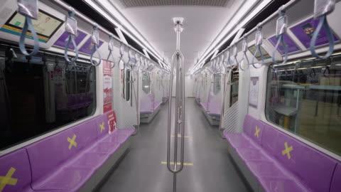 vídeos y material grabado en eventos de stock de el tren está vacío - ausencia