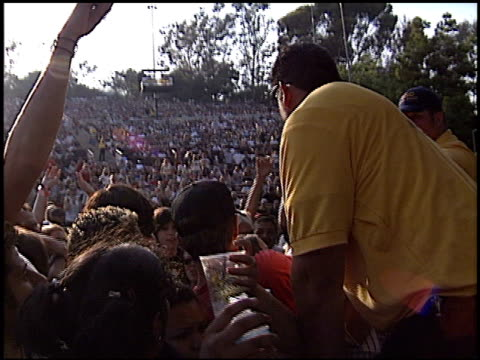the transplants at the 2003 kroq weenie roast at verizon amphitheater in irvine california on june 14 2003 - kroq weenie roast stock videos & royalty-free footage