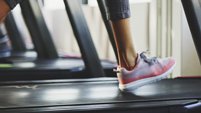 the treadmill can get the job done - treadmill stock videos & royalty-free footage