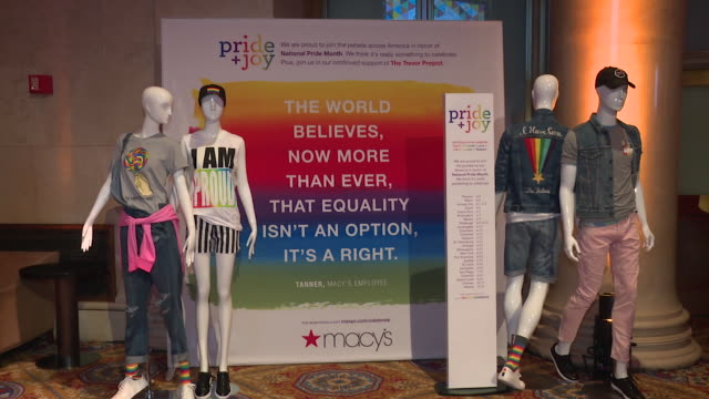 ATMOSPHERE The Trevor Project TrevorLIVE NY 2018 at Cipriani Wall Street on June 11 2018 in New York City
