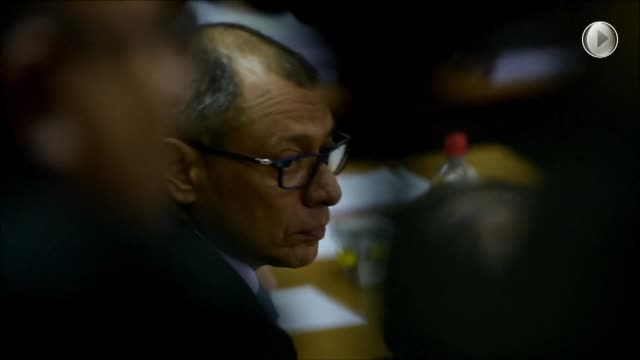 The trial against Ecuadorian VP Jorge Glas for illicit association and bribes of the Brazilian construction company Odebrecht begin in Quito