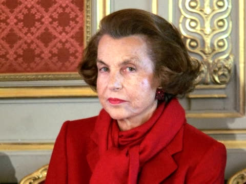 the trial of a man accused of cheating l'oreal heir liliane bettencourt out of part of her billions looked set to be delayed due to a separate... - grooming product stock videos & royalty-free footage