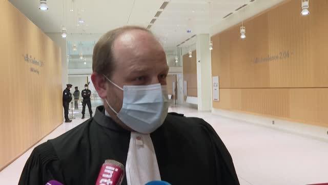 the trial of former vatican ambassador to france, luigi ventura, has begun in paris in absentia due to poor health - ambassador stock videos & royalty-free footage