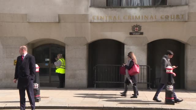 the trial opens in london of a couple accused of murdering their french au pair and trying to burn her body - nanny stock videos & royalty-free footage