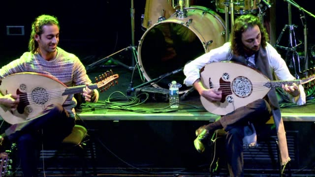 The Trio Joubran are the Palestinian peoples cultural ambassadors investing as much in the Palestinian cause as in their music which the three...