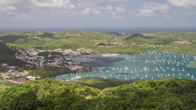 vidéos et rushes de the tropical island paradise of martinique. - martinique