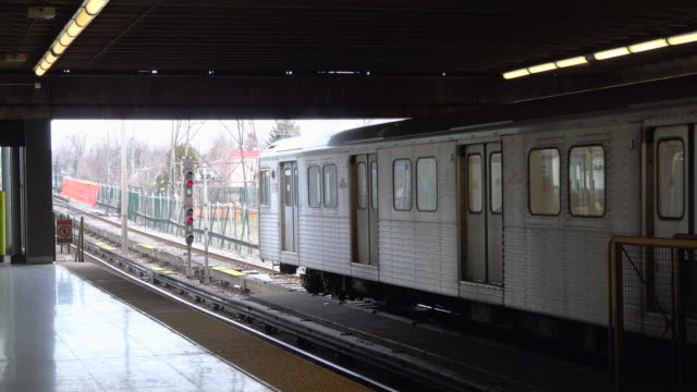The TTC is gradually changing these trains for more modern ones of the same brand Bombardier is a Canadian company