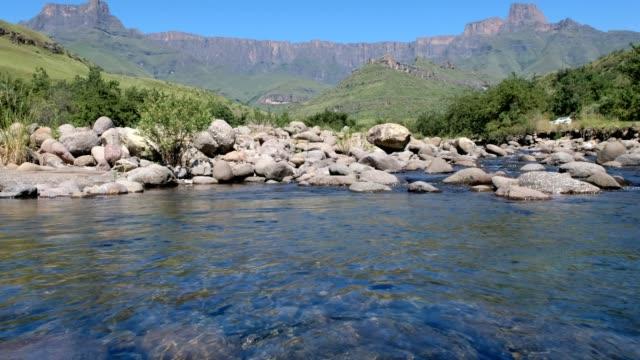 The Tugela River near Drakensberg, South Africa